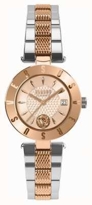 Versus Versace 女装标志玫瑰金表盘双色手链 SP77260018