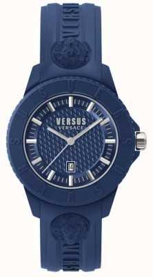Versus Versace 东京r蓝色表盘蓝色硅胶 SPOY210018