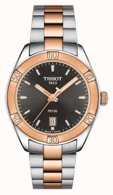 Tissot 女士PR 100 Sport Chic 36mm两音黑色表盘 T1019102206100