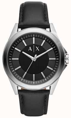 Armani Exchange 男装连衣裙黑色表带 AX2621