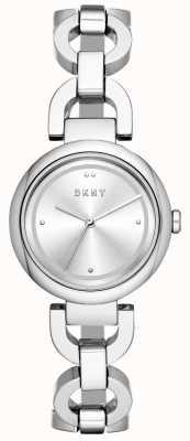 DKNY 女士东区观看不锈钢偷 NY2767