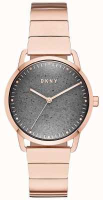 DKNY Dkny女士绿点手表玫瑰金 NY2757