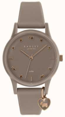 Radley 女士硅胶手表配玫瑰金 RY2694