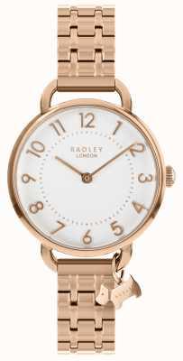 Radley 女士手表玫瑰金开口肩膀手链 RY4344