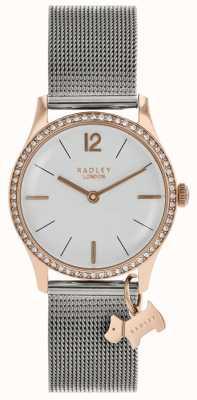 Radley 女士施华洛世奇水晶银白色表盘 RY4351