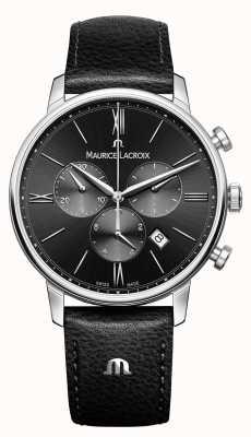 Maurice Lacroix Eliros计时码表男士黑色表盘 EL1098-SS001-310-1