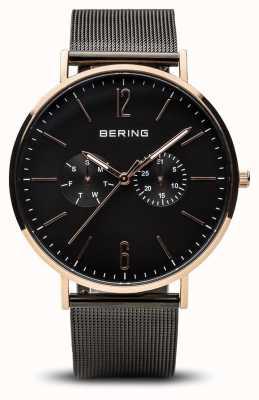 Bering 经典|抛光玫瑰金| 14240-163