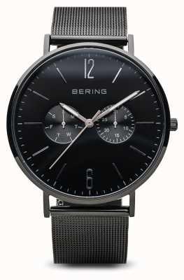 Bering 经典|抛光黑色| 14240-223
