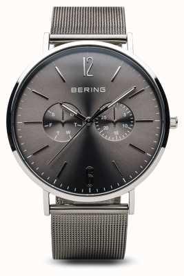 Bering 经典|抛光银| 14240-308