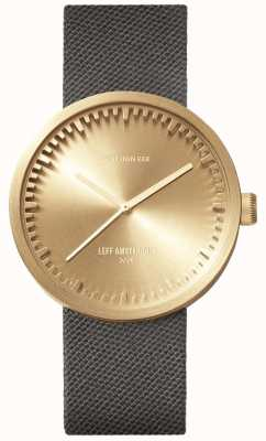 Leff Amsterdam 电子管手表d38 | cordura黄铜|灰色表带 LT71025