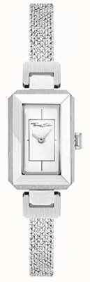 Thomas Sabo 女式不锈钢表壳/表链白色表盘 WA0330-201-202-23