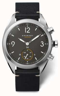 Kronaby Apex智能手表|黑色表带| a1000-3114 S3114/1