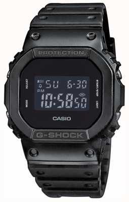 Casio 男士g-shock黑色表盘树脂表带 DW-5600BB-1ER