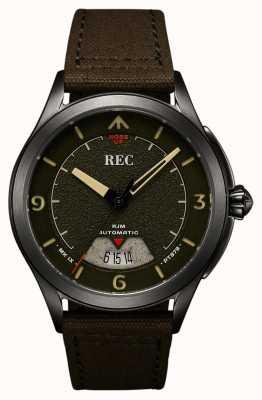 REC Spitfire自动帆布表带(免费表带/笔记本) RJM-03