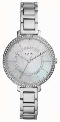 Fossil 女装jocelyn |银色不锈钢手表 ES4451