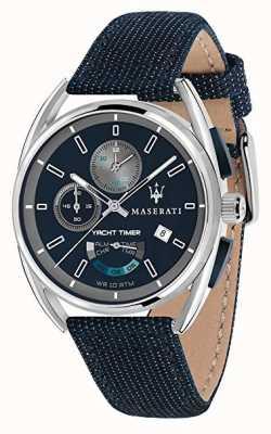 Maserati Trimarano yatch计时器41 |蓝色表盘|蓝色织物表带 R8851132001