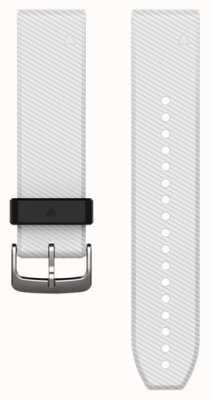Garmin 白色橡胶表带快速装备22毫米fenix 5 /本能 010-12500-01