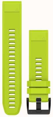 Garmin Amp黄色表带quickfit 22mm fenix 5 /本能 010-12496-02