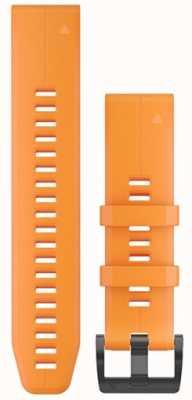 Garmin 橙色橡胶表带快速装备22毫米fenix 5 /本能 010-12740-04