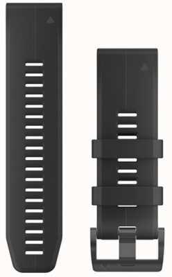 Garmin 黑色橡胶表带quickfit 26毫米fenix 5x / tactix查理 010-12741-00