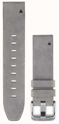 Garmin 灰色绒面皮革表带quickfit 20毫米fenix 5s 010-12491-16