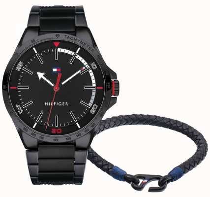 Tommy Hilfiger 男士手表和手镯礼品套装 2770029