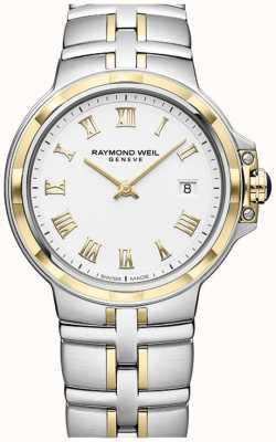 Raymond Weil Parsifal双色调|金和不锈钢|男士手表 5580-STP-00308