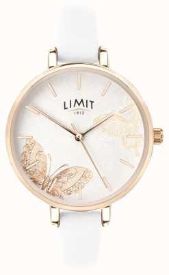 Limit |女性秘密花园手表|白蝴蝶表盘 60013