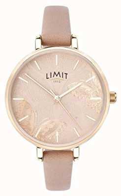 Limit |女性秘密花园手表|桃蝴蝶拨号| 60014
