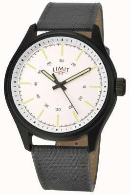 Limit |男士|黑色尼龙表带|白色表盘| 5949.01