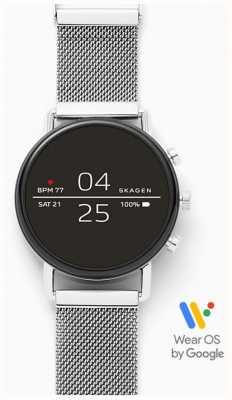 Skagen 连接智能手表不锈钢网 SKT5102
