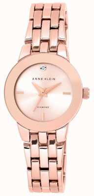 Anne Klein |女士agnes手表|玫瑰金手链| AK-N1930RGRG