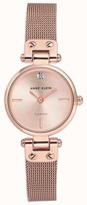 Anne Klein  女士电缆手表 玫瑰金色调  AK-N3002RGRG