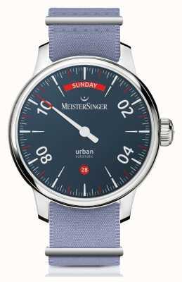 MeisterSinger 市区日期|两表带手表| URDD908