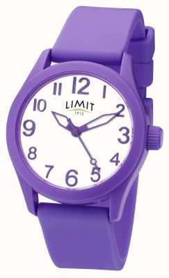 Limit |紫色硅胶表带|白色表盘| 5722