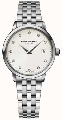 Raymond Weil |女士toccata钻石手表| 5988-ST-40081