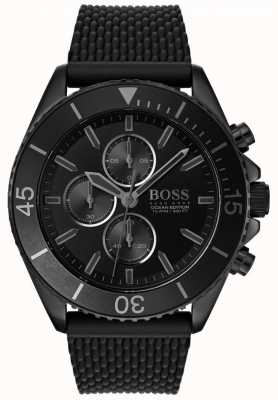 Hugo Boss |男装海洋版|黑色表盘|黑色表带| 1513699