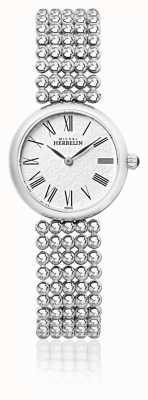 Michel Herbelin 女式27毫米不锈钢表链珍珠表盘 17483/B08