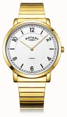Rotary |男士镀金手链| GB02766/18
