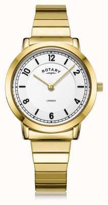 Rotary |女士镀金手链| LB00766/18