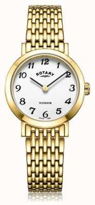 Rotary |女士镀金手链| LB05303/18