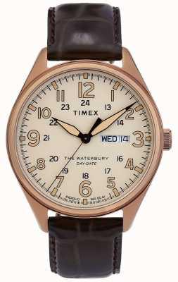 Timex | waterbury传统日期日期表| TW2R89200D7PF