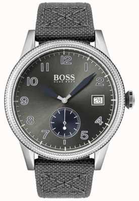 Hugo Boss |男士灰色帆布表带|传统手表| 1513683