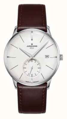 Junghans Meister mega small second |深棕色皮表带| 058/4902.00