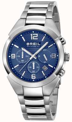 Breil |男士不锈钢表带|蓝色表盘| TW1328