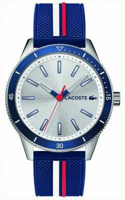 Lacoste |男士基韦斯特|蓝色硅胶表带|银色表盘| 2011006