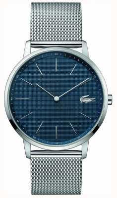 Lacoste |男士月亮|钢网手链|蓝色表盘| 2011005