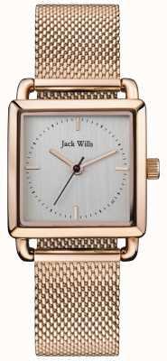 Jack Wills |女士们爱上玫瑰金| JW016SLRS