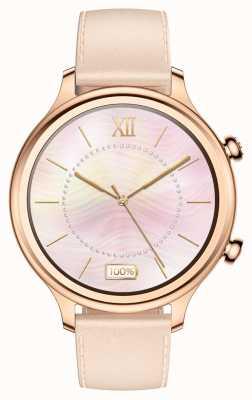 TicWatch C2 |玫瑰金智能手表|皮表带 131584-WG12056-RG