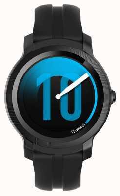 TicWatch E2 |影子智能手表|黑色硅胶表带 131586-WG12026-BLK